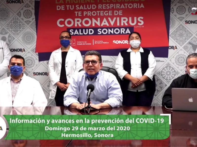 Confirman tres casos más de COVID dos por contacto; Sonora