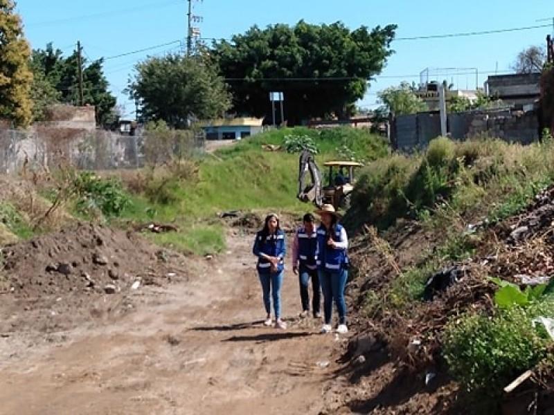 Inician desazolve de arroyos en Xalisco