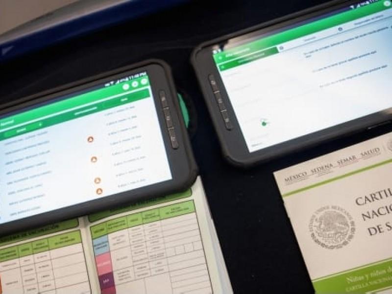 Inician digitalización de cartillas de vacunación en Ahome