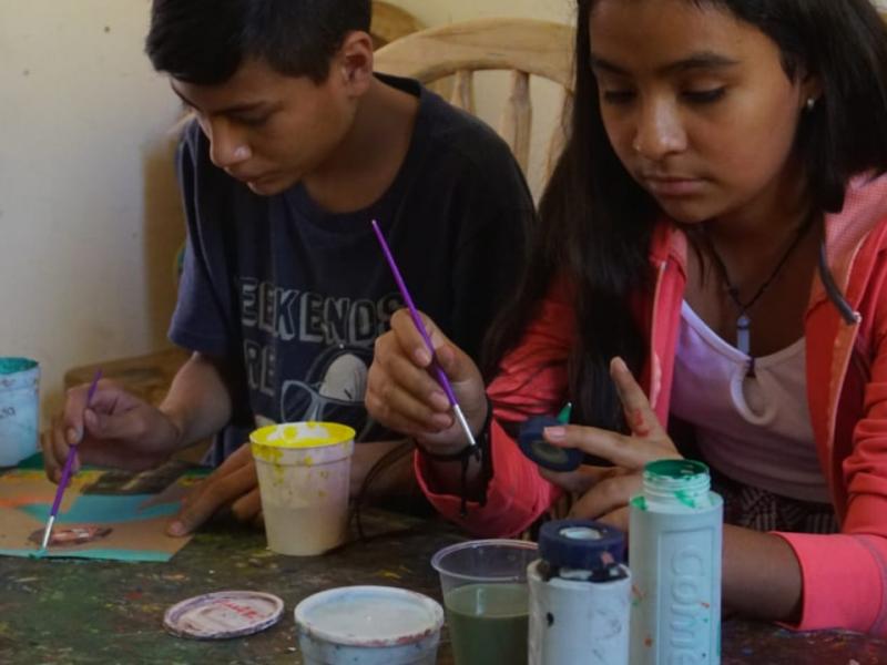 Inician semillero Creativo en escuela de artes