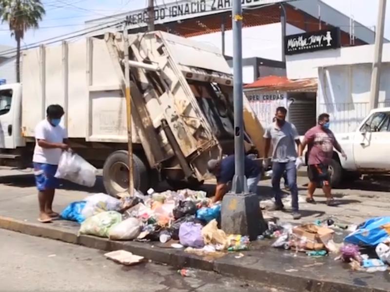 Inician trabajos de limpieza en calles y avenidas de SalinaCruz