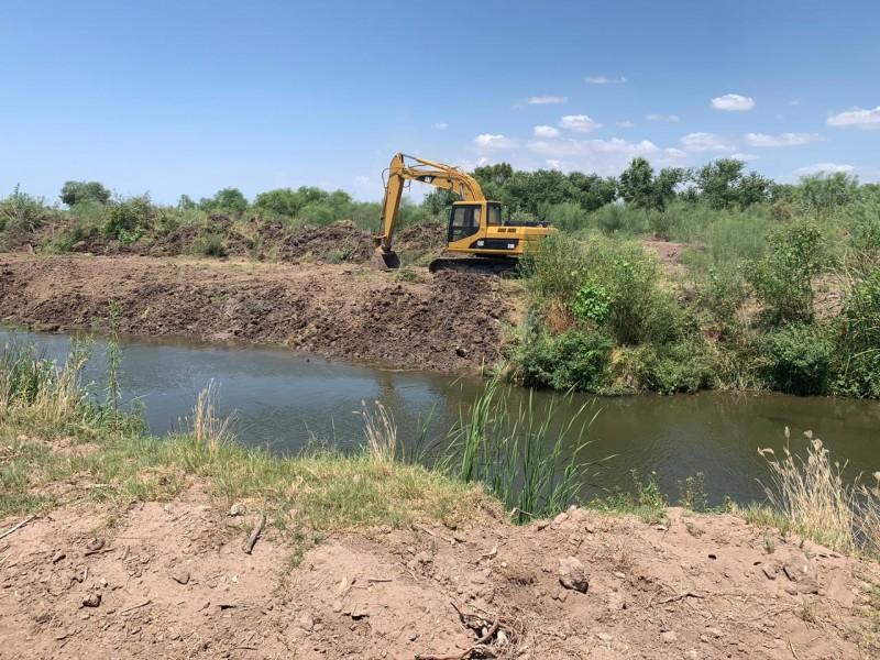 Inician trabajos segunda etapa desviación Dren Juárez