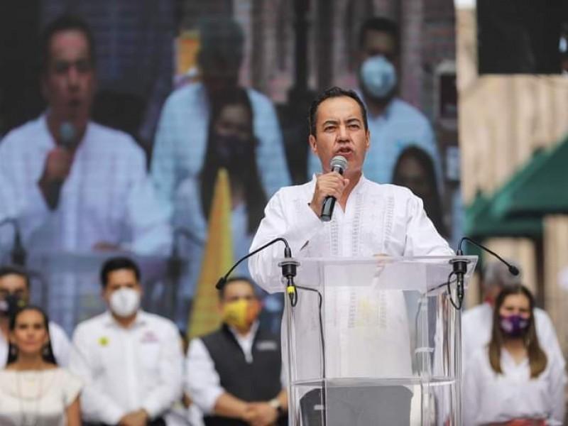 Iniciará Carlos Herrera proceso para esclarecer anomalías en elección