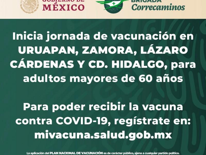 Iniciará el martes vacunación contra COVID-19 en cuatro municipios