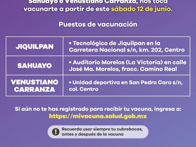 Iniciará vacunación contra COVID-19 en Jiquilpan, Sahuayo, y Venustiano Carranza