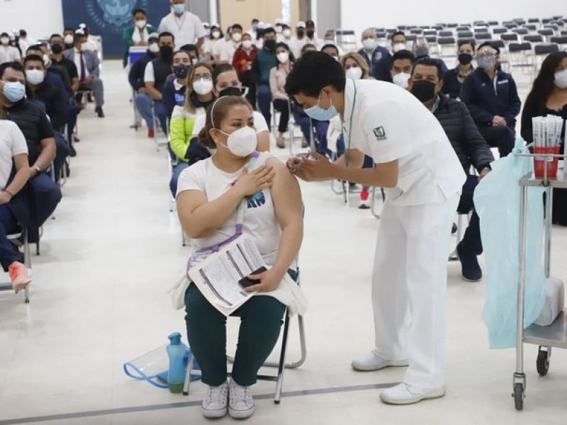 Iniciará vacunación de 40 a 49 años en Cdmx