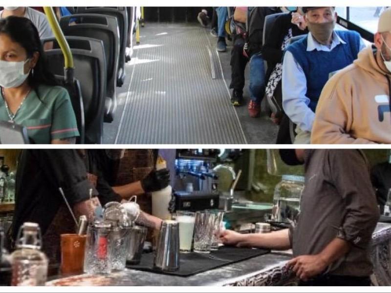 Iniciarán operativos en transporte público y bares para evitar rebrote