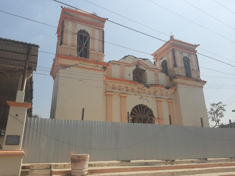 Iniciarán trabajos de restauración en la iglesia de San Sebastián