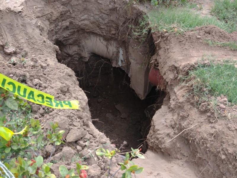 Iniciativa privada en Guasave demanda investigar surgimiento de socavones