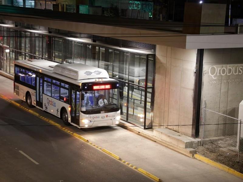 Iniciativas pendientes en materia de transporte público