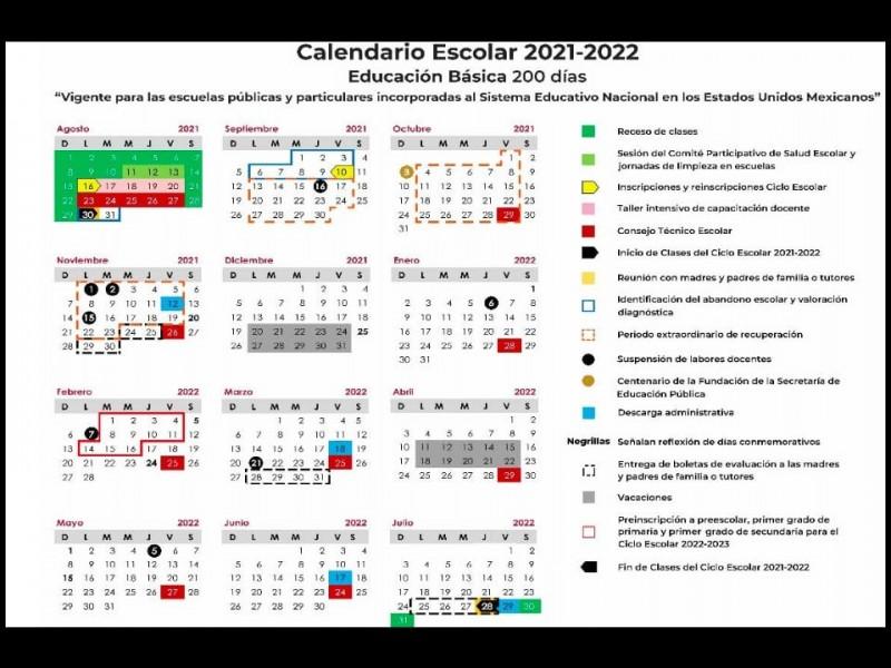 Inicio de ciclo escolar 2021-2022 en Durango no se modificará