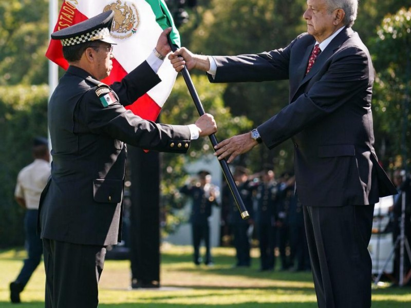 Inició formalmente operación de la Guardia Nacional.