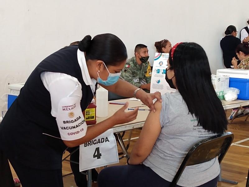 Inició jornada de vacunación anti-COVID para mujeres embarazadas en Zamora