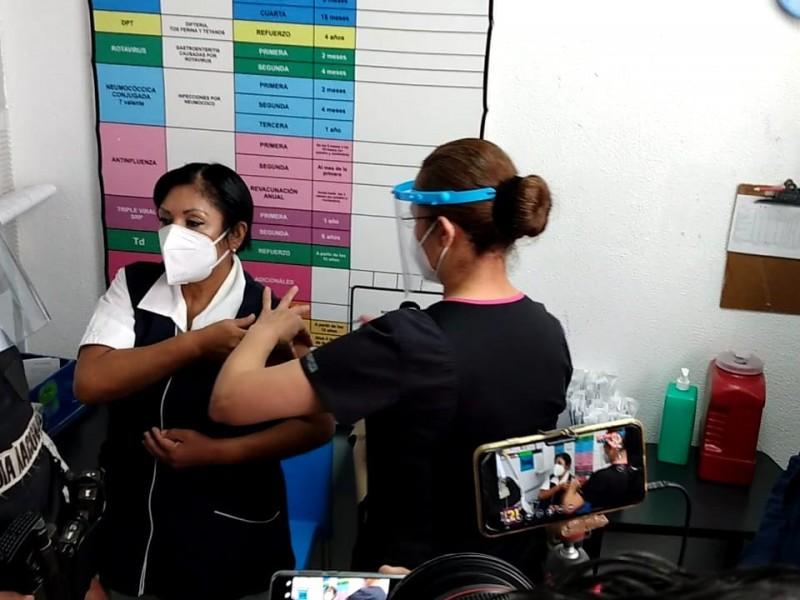 Inició la aplicación de la vacuna contra Covid-19 en Nayarit