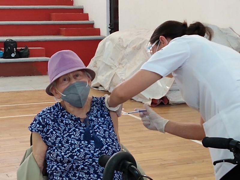Inició la segunda jornada de vacunación anti-COVID en Zamora