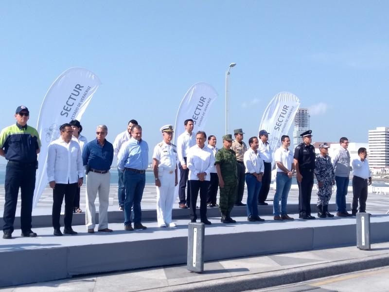 Inició operativo vacacional de Verano en Veracruz