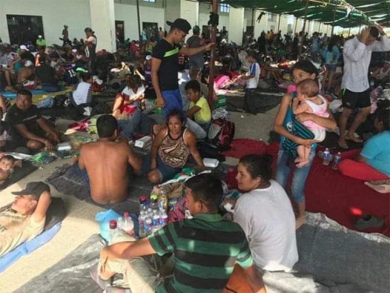 INM detiene a Migrantes ilegales