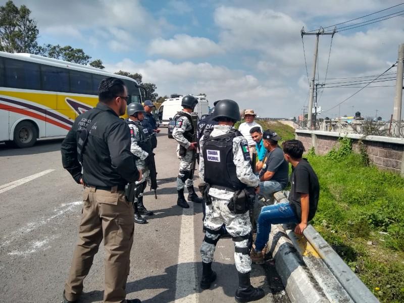 INM rescata 387 migrantes centroamericanos