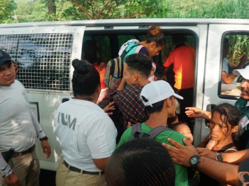 INM rescata a 750 migrantes en 3 eventos distintos