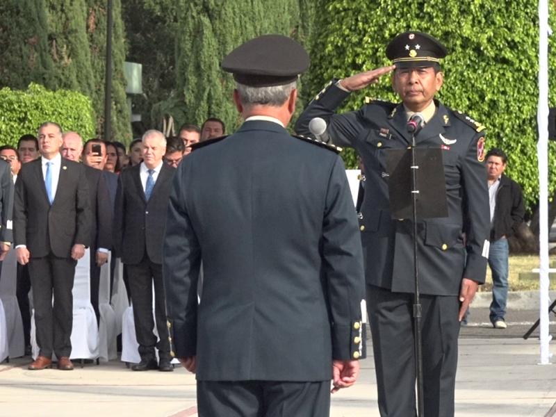 Inocente Prado es nombrado comandante 17a Zona Militar