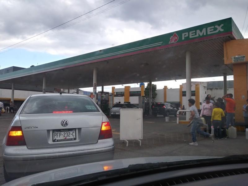 Inquieta a ciudadanos nuevas filas en gasolineras