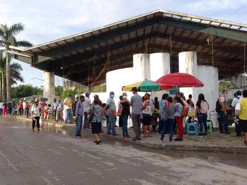 Inscriben a programa de 65 y Más en Tuxpan