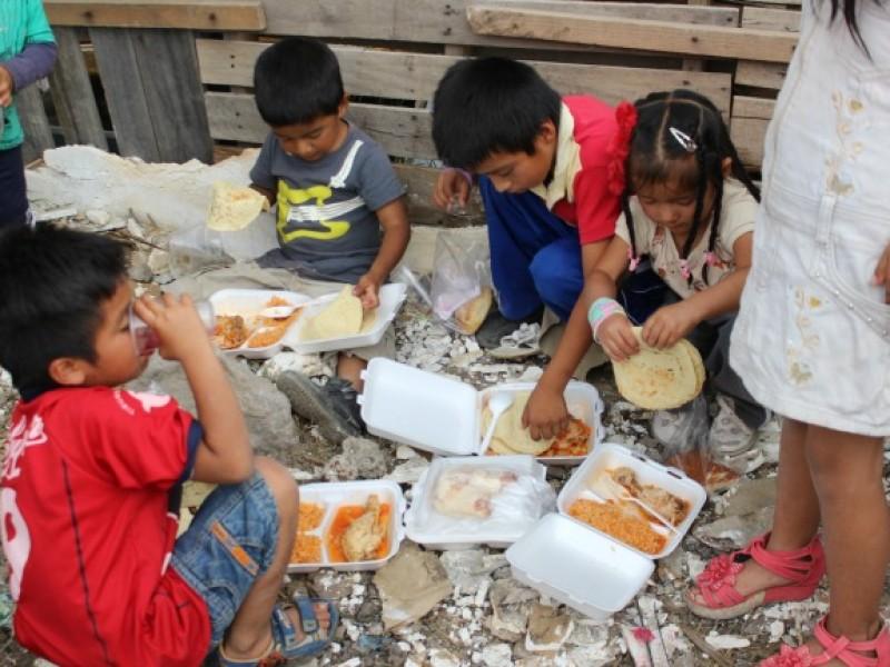 En México, casi la mitad de los hogares sufre inseguridad alimentaria: Inegi