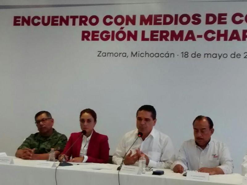 Inseguridad en Michoacán es cuestión de percepción: Gobernador