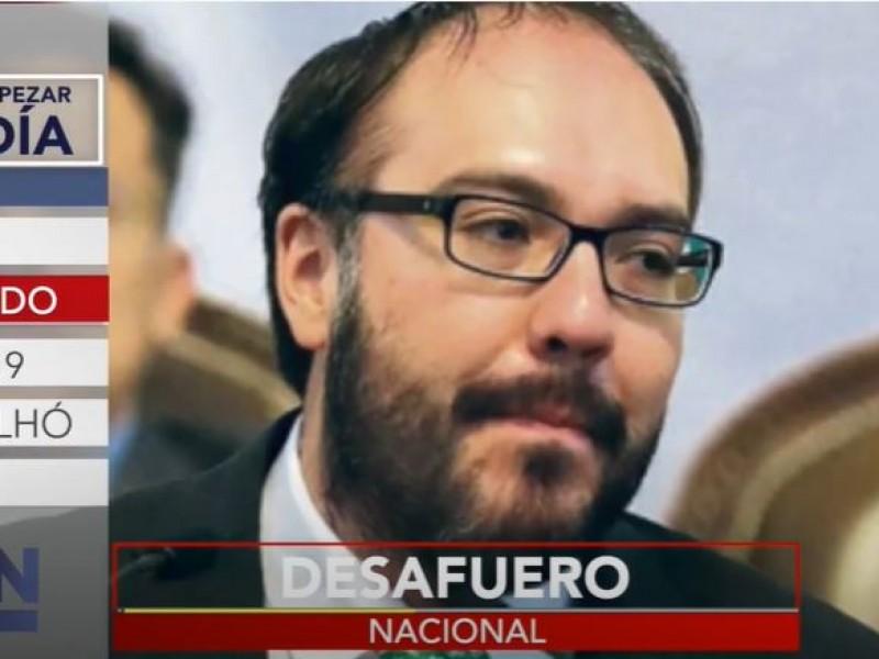 Insisten en el desafuero de Mauricio Toledo