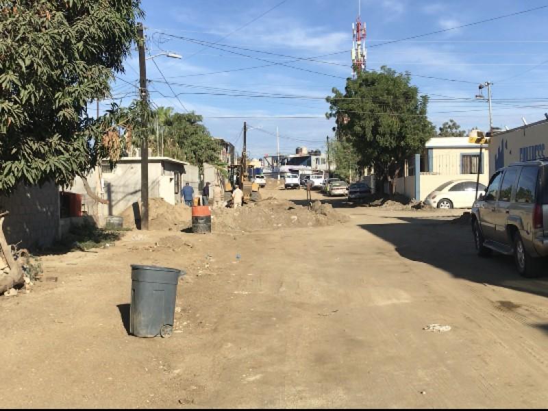 Imposible transitar por las calles: Vecinos colonia 4 de Marzo