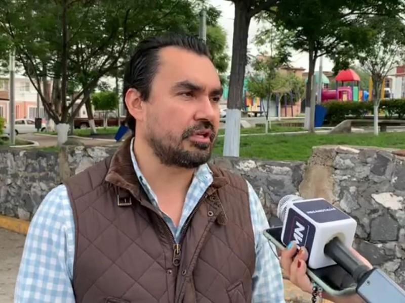 Inspecciona CICQ socavón y calles dañadas en Candiles
