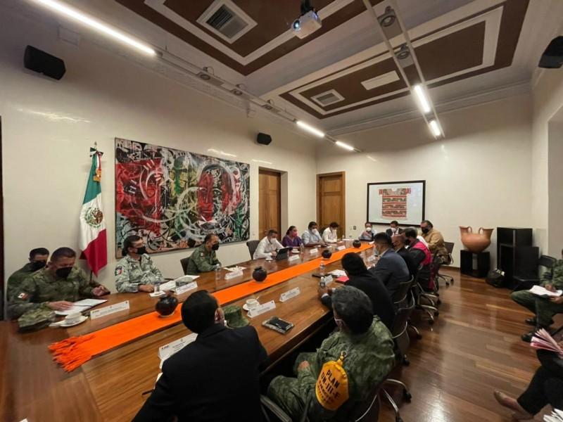 Instala Mesa de Seguridad de Oaxaca permanente para garantizar comicios