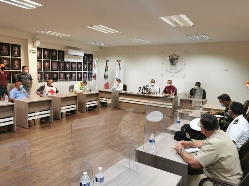 Instalan Consejo Municipal de Protección Civil por temporada de huracanes.