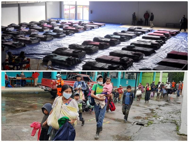 Instalación de albergues temporales, un reto ante pandemia: Bomberos Oaxaca