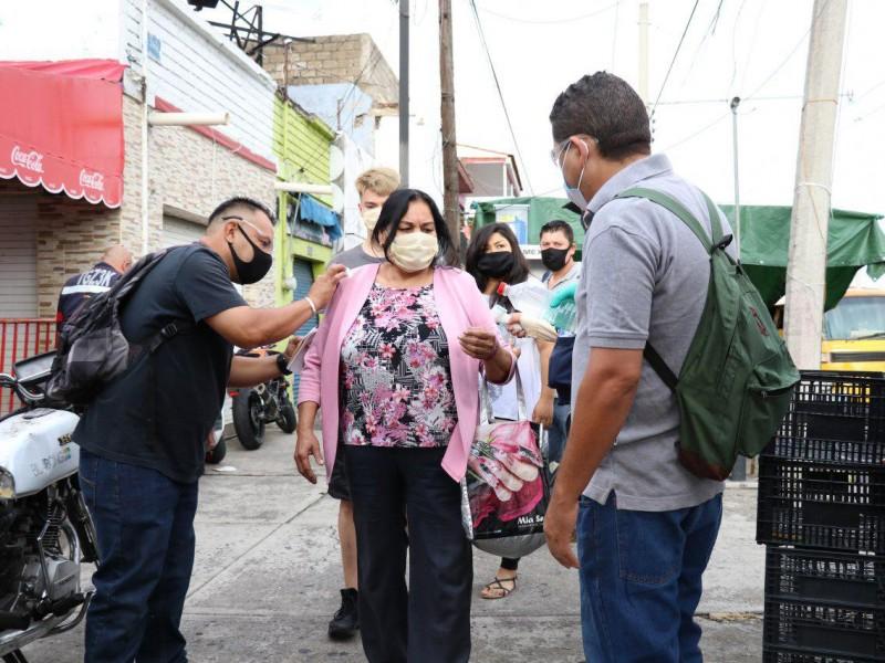 Instalan 27 filtros sanitarios en Baratillo y Polanco