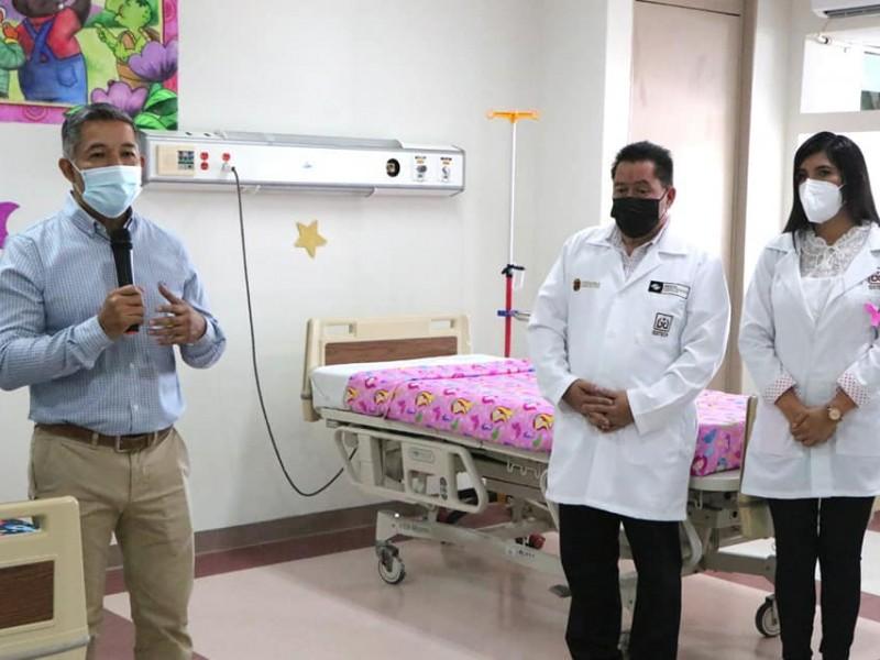 Instalan área de cuidados paliativos en el ISSTECH