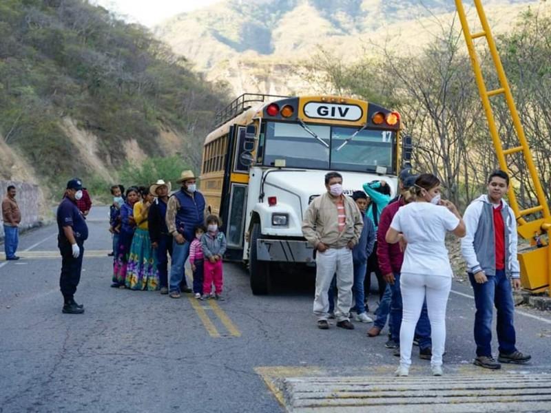 Instalan cerco sanitario en La Yesca por COVID-19