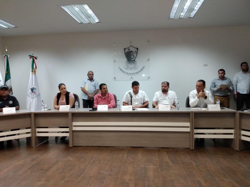 Instalan Comité Municipal de PC en Ahome