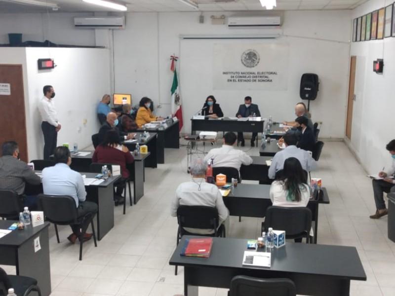 Instalan Consejo Distrital del 04 Distrito en miras a elecciones