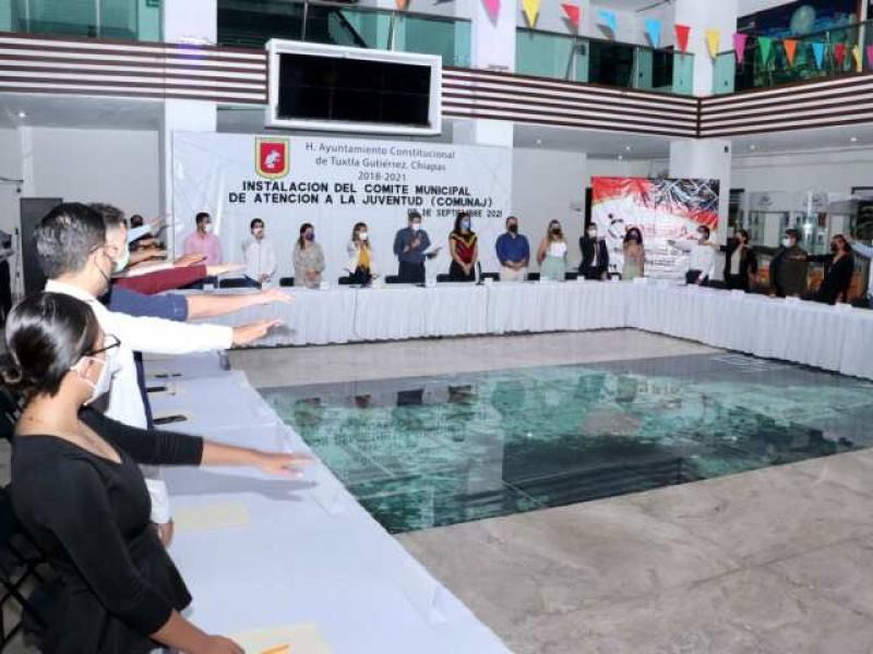 Instalan en TGZ Comité Municipal de Atención a Jóvenes