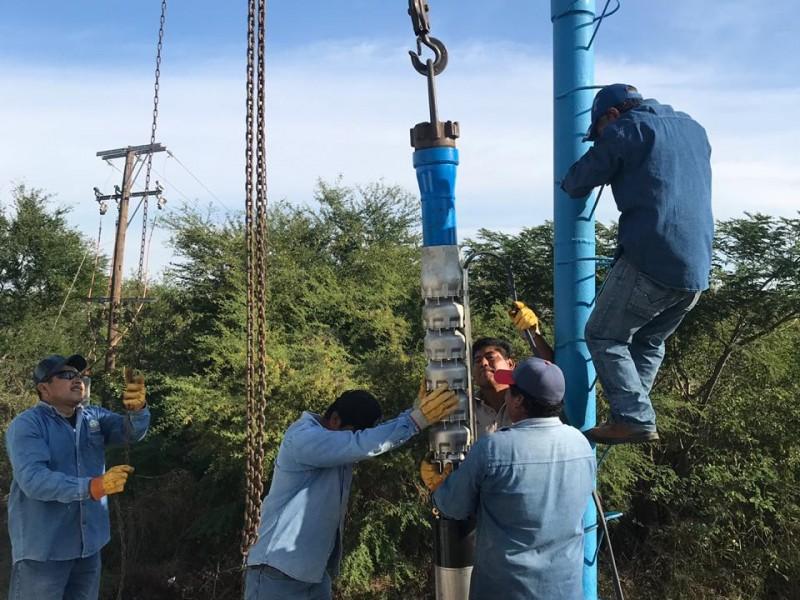 Instalan equipo para mejorar distribución del agua