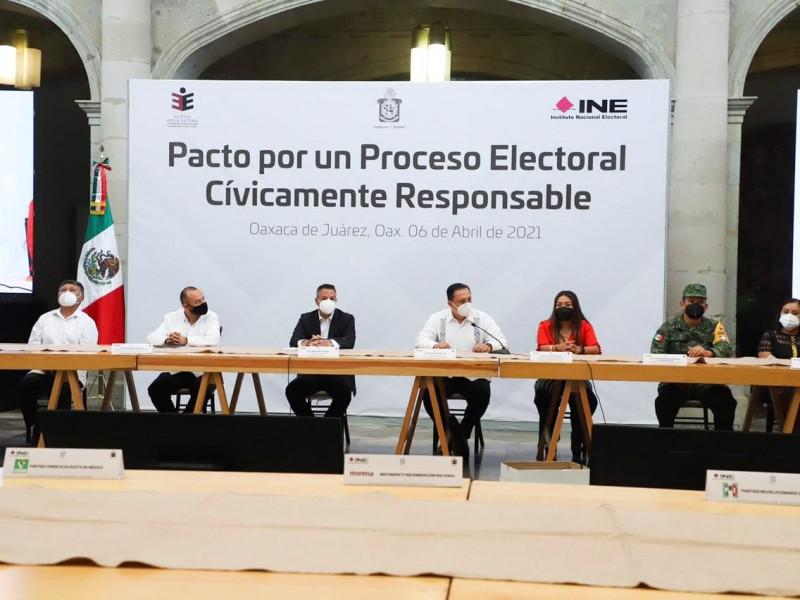 Instalan mesa de seguridad electoral; piden evitar violencia feminicida