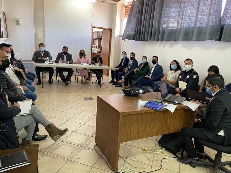 Instalan mesa de trabajo para el combate delictivo en Pátzcuaro