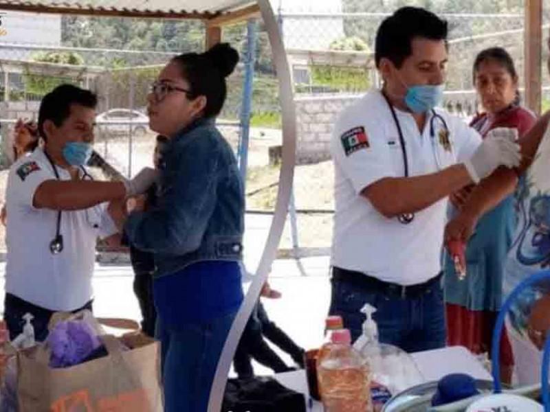Instalan mesas de atención en Cerss de Chiapas por Covid-19