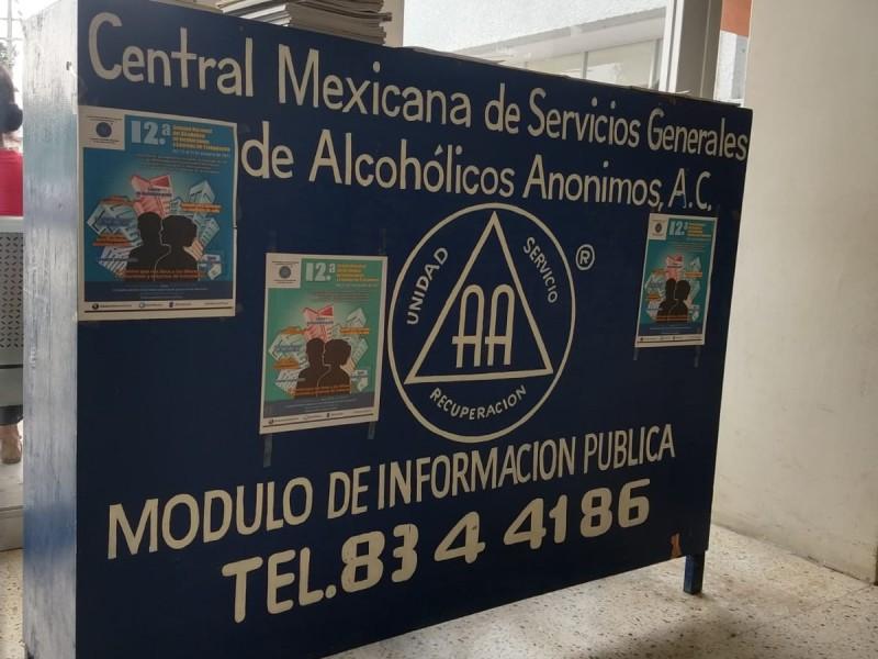 Instalan Módulo Alcohólicos Anónimos en el ISSSTE Tuxpan