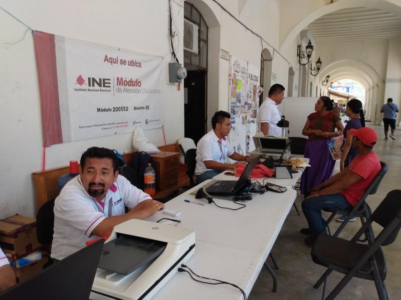 Meganoticias Instalan Módulo Del Ine En Santo Domingo