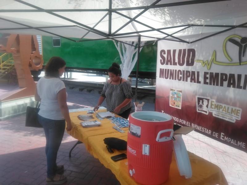 Instalan módulos de hidratación en Empalme