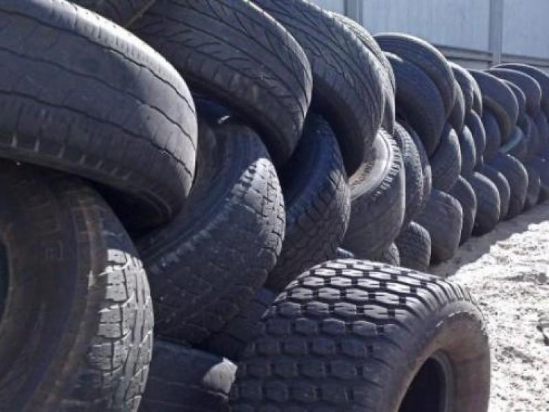 Instalarán centro de acopio para recibir neumáticos en desuso