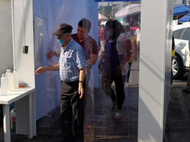 Instalarán túnel sanitizante en el Mercado Municipal de Navojoa