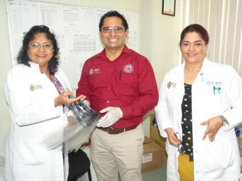 Instituto Superior de Poza Rica elabora mascarillas contra coronavirus